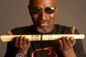 TS Monk - Holding Drum Sticks Across his Hands 2